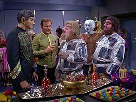 270px-Star_Trek_TOS_-_Journey_to_Babel_-_Captain_Kirk_with_Vulcan_ambassador_Sarek_and_Tellarite_ambassador_Gav