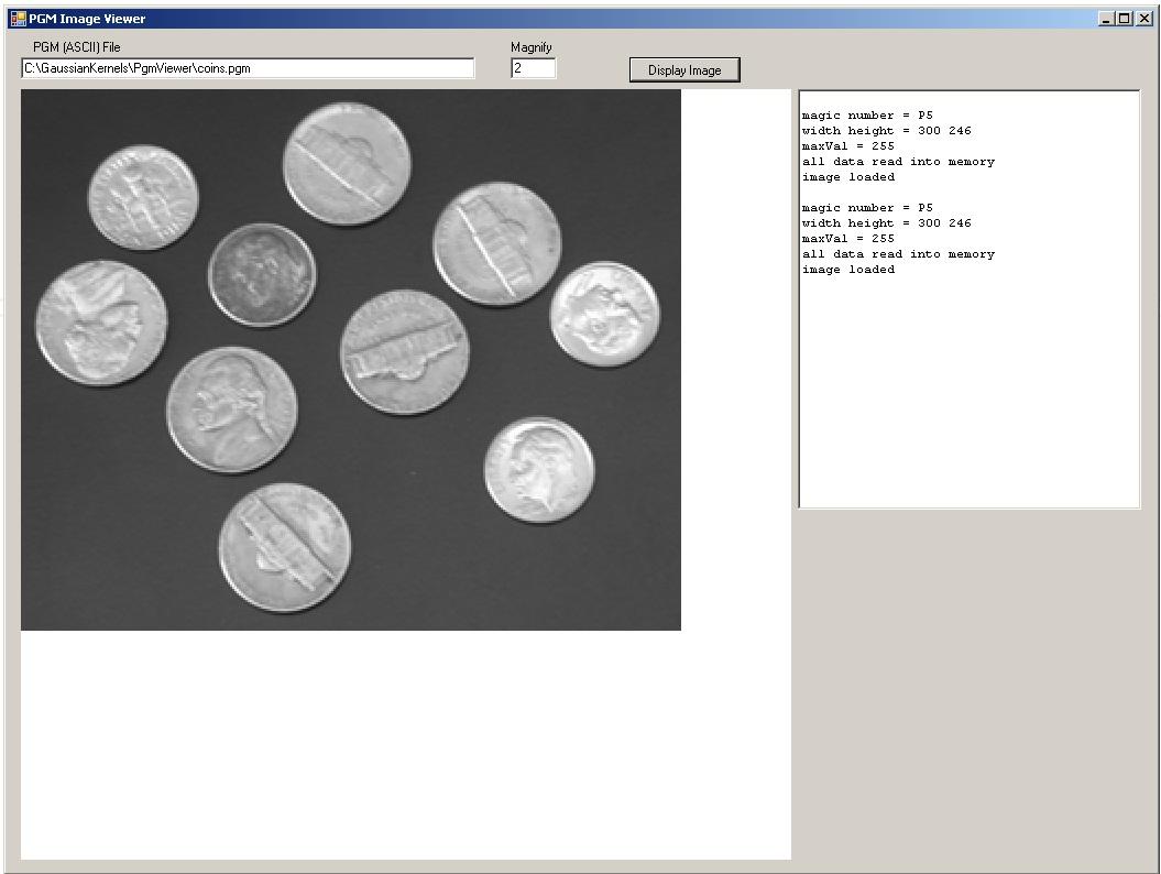 A PGM Image Viewer using C# | James D  McCaffrey