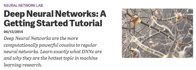 Deep Neural Networks using C# | James D. McCaffrey