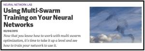 MultiSwarmForNeuralNetworks