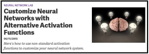 AlternativeActivationFunctions