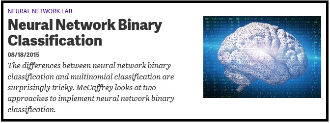 Neural network binary option