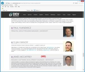 DevInterSection2014WebSiteSpeakers