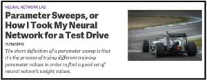 NeuralNetworkParameterSweeps