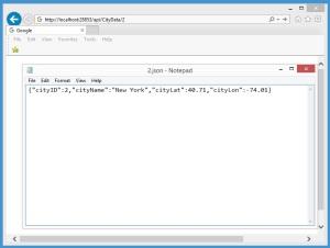 BingMapsWithSQLAccessingTheWebService