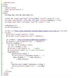 BingMapsWithSQLPreliminaryPageCode