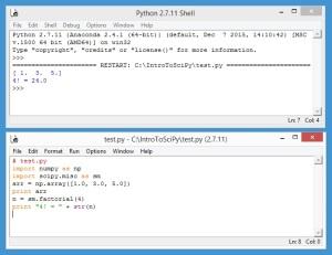 SciPyTestProgram
