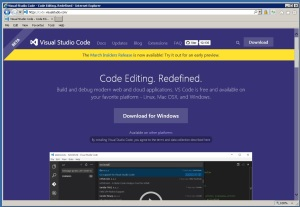 VisualStudioCodeWebSite