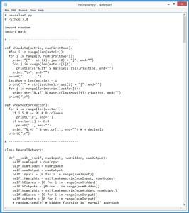 NeuralNetWithPythonCODE