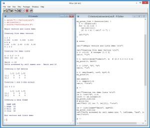 VectorsAndListsDemoProgram
