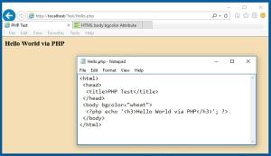 PHPWebPage