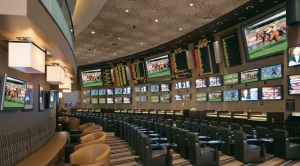Race and Sports Book interior at MGM Grand