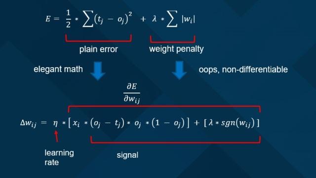 Implementing Neural Network L1 Regularization | James D