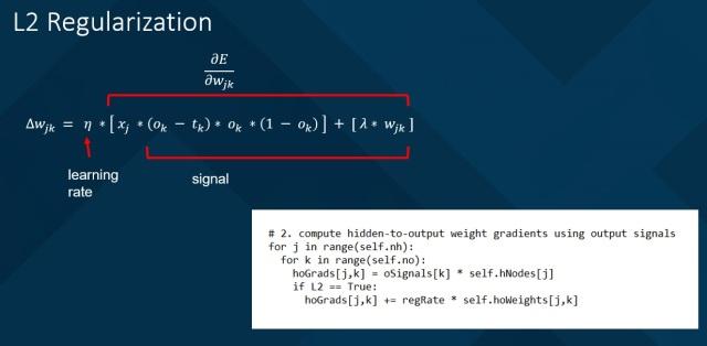 Implementing Neural Network L2 Regularization | James D