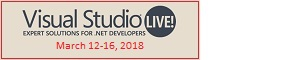 2018 Visual Studio Live Conference
