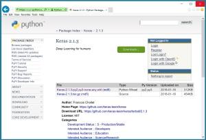 Installing Python, TensorFlow, Keras in a Conda Environment on