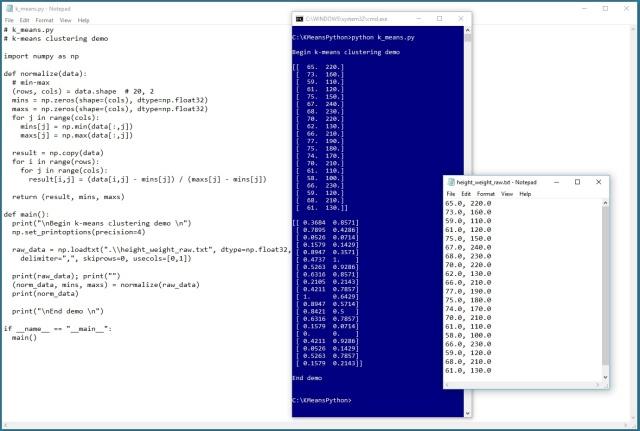Min-Max Data Normalization with Python   James D  McCaffrey