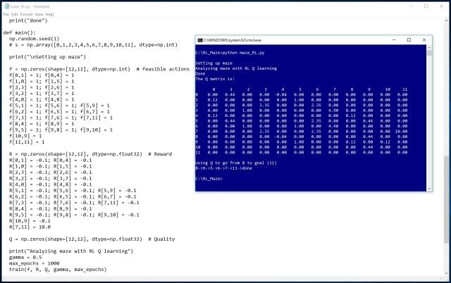 Solving a Maze using Q-Learning | James D  McCaffrey