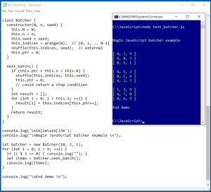 A Batcher Class in JavaScript | James D  McCaffrey